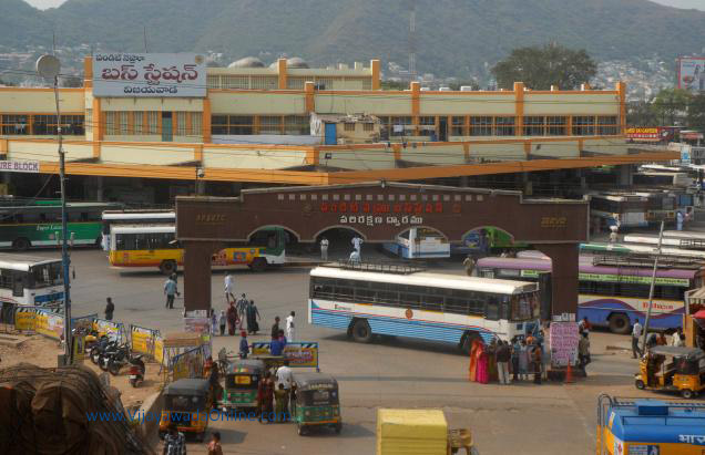 pandit nehru bus station in vijayawada