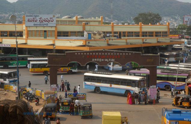 pandit nehru bus station in vijayawada