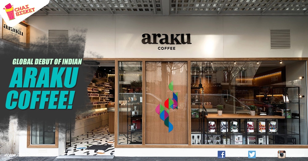 Araku coffee promoted by anand mahindra opens its first for Showroom cuisine paris