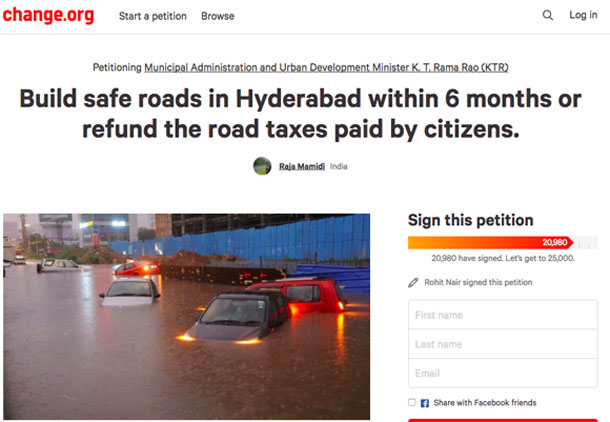 this hyderabadi is seeking the help of internet to fix the adverse