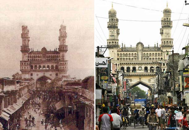Pictures of Hyderabad Then & Now that will leave you Amazed!
