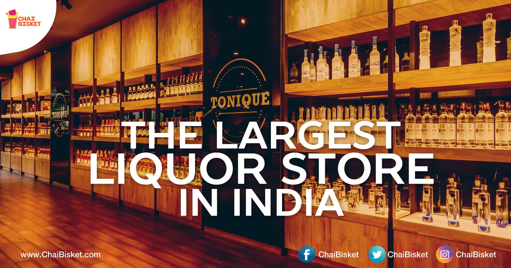 Presenting The Hyderbadi Liquor Store That Is Currently The Biggest In The Whole Country Chai
