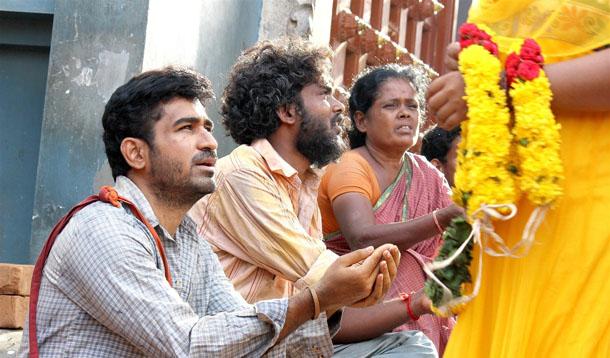 Actor Vijay Antony in Bichagadu Movie Stills