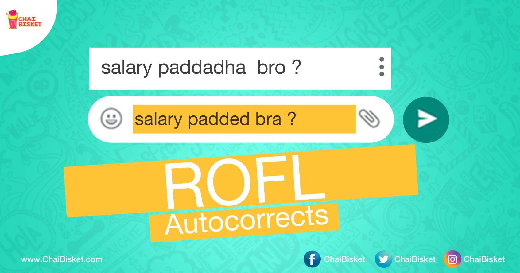 These ROFL Auto-Corrects From Telugu To English Will Make