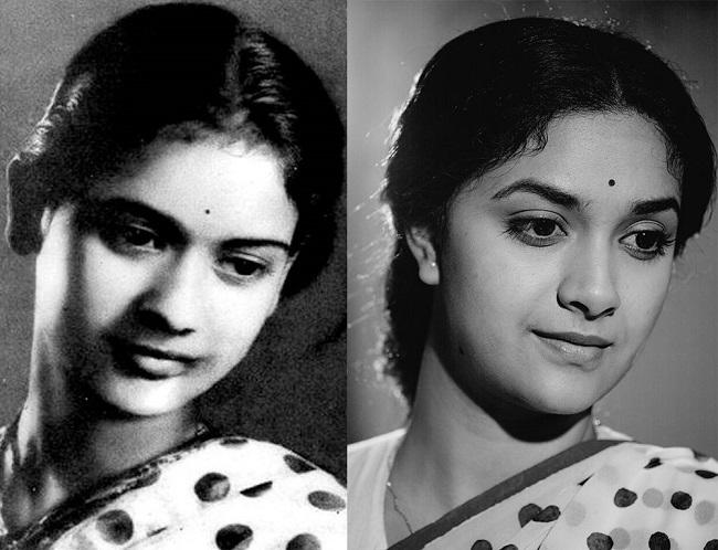 Telugu Veteran Actress Savithri Rare Stills: Keerthy Suresh Or Savitri Garu ? These Striking
