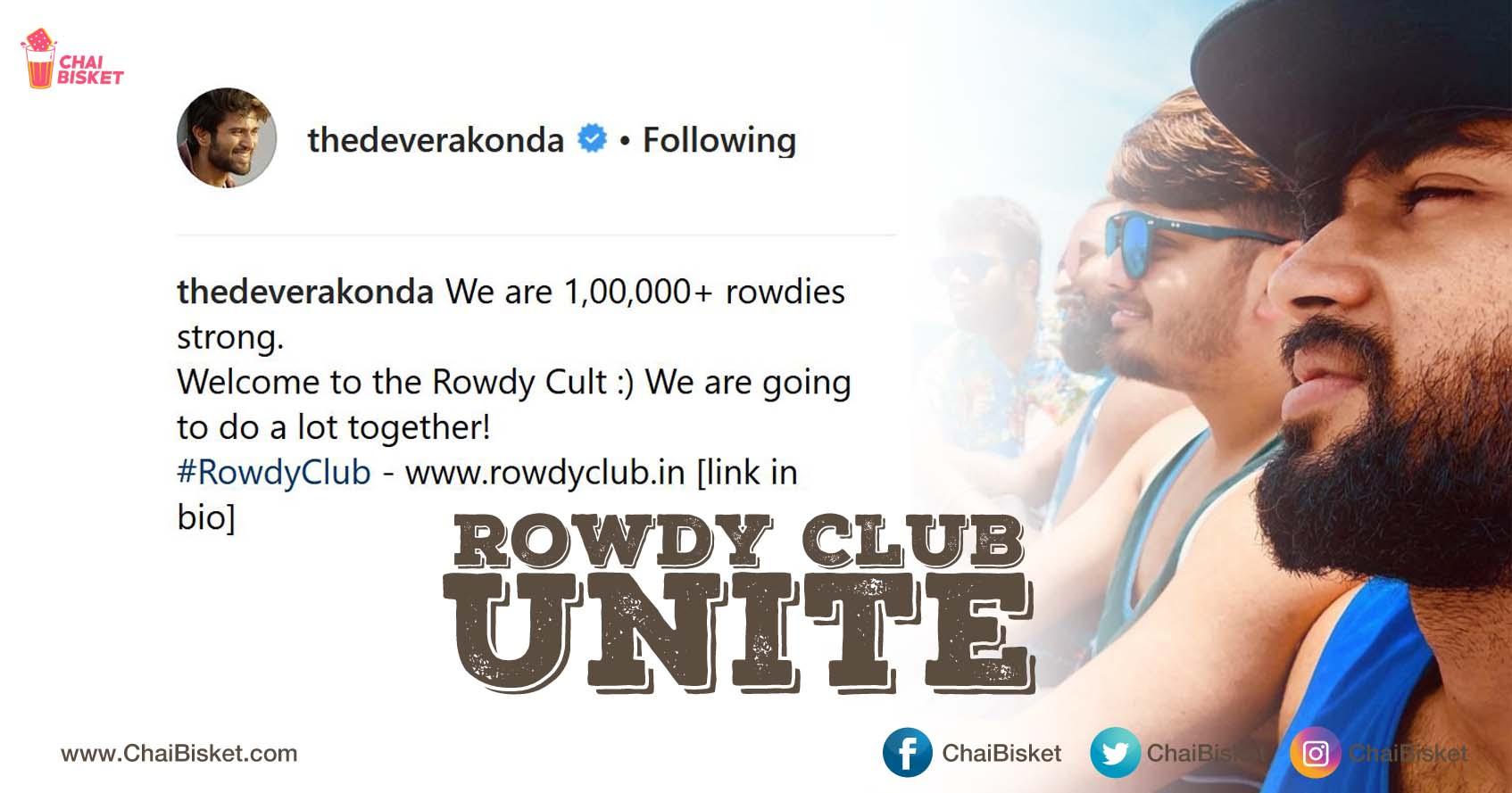 Our Rowdy Boy Vijay Deverakonda Has Not One, But Two Special