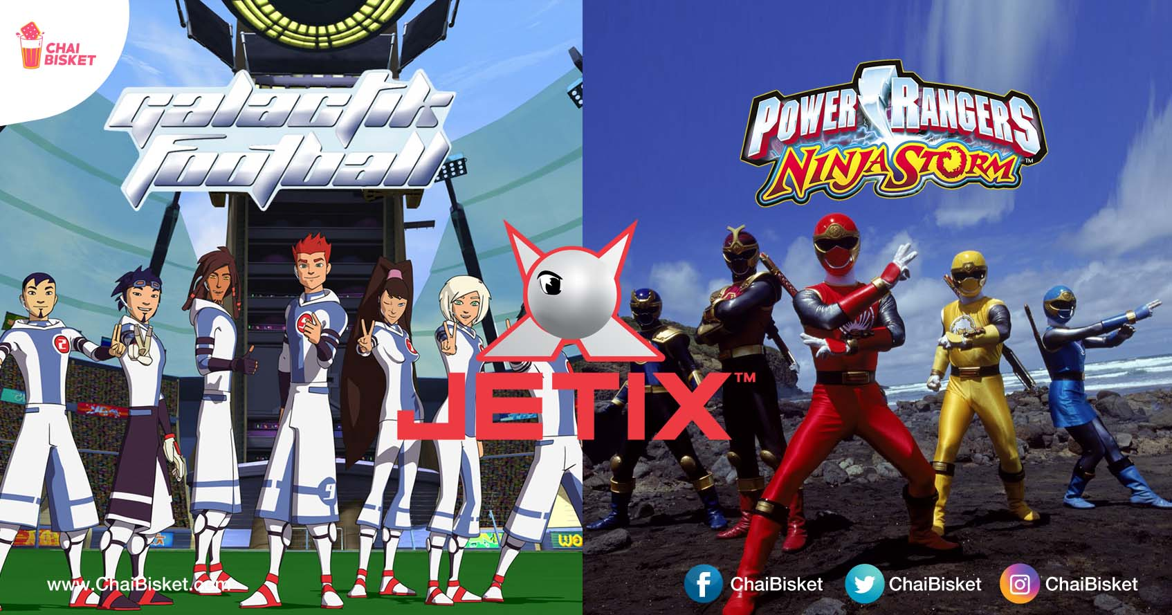 Before Netflix & Amp All There Were Jetix Shows That Every