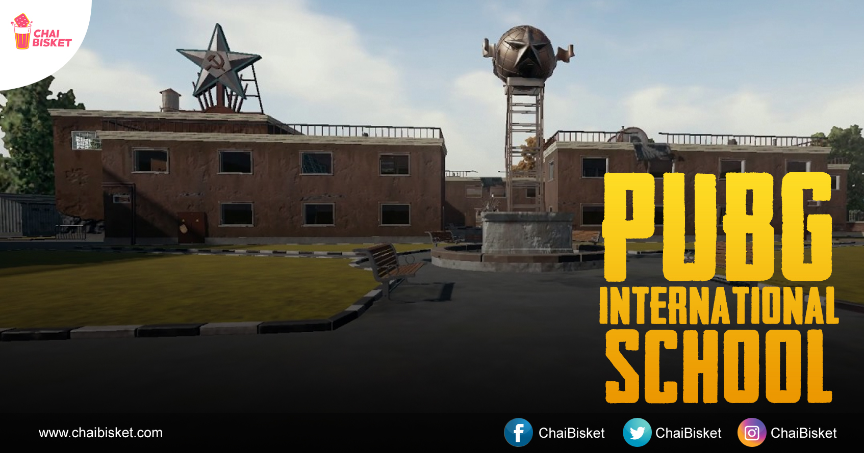 Pubg Real Life Hd Wallpaper: Welcome To PUBG High School. Here's How It Looks In 9