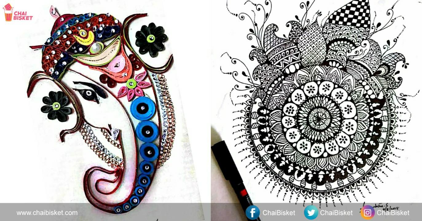 this woman s unique doodle art is both amazing unbelievable to