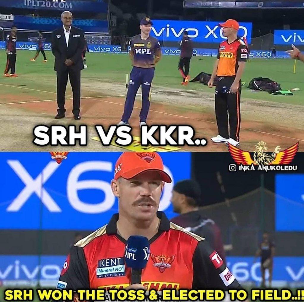 Devudi Kaathalo Inkoti: Memes That Sum Up Today's SRH vs KKR Match