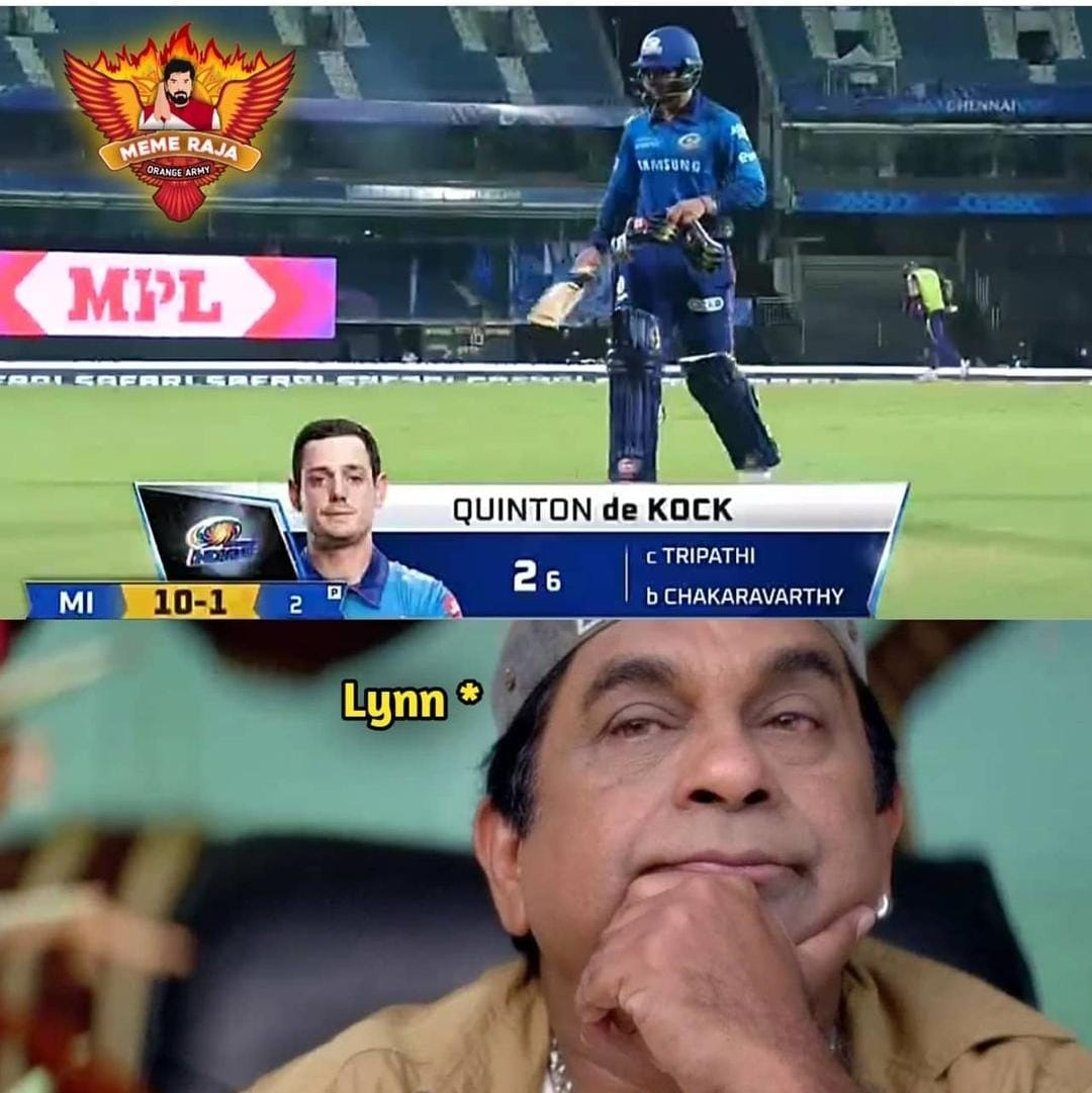 Enni Twist Lu Ra Ayya: Memes That Sum Up Today's MI vs KKR Match