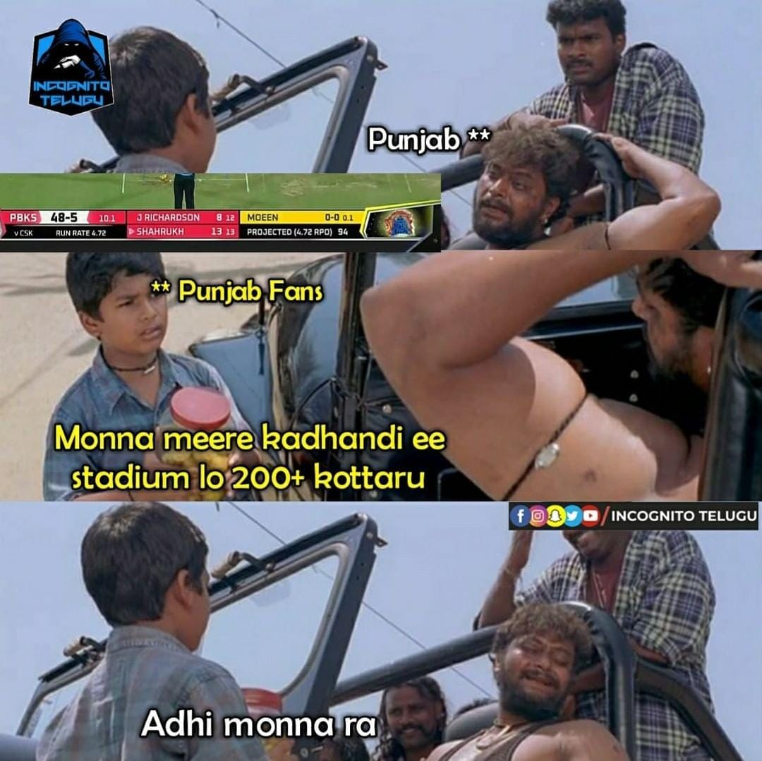 Enna Comeback Thalaivaa: Memes That Sum Up Today's CSK vs PBKS Match